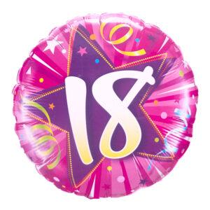 18 Birthday Balloon
