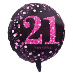 21 Birthday Balloon