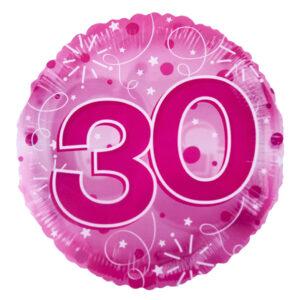 30 Birthday Balloon