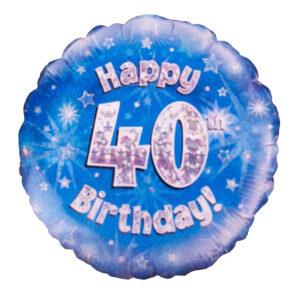 40 Birthday Balloon