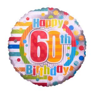 60 Birthday Balloon