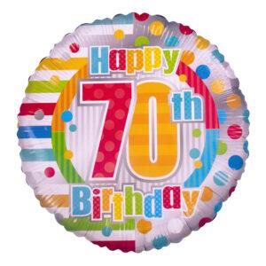 70 birthday Balloon